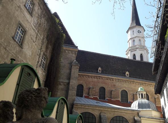 Führung Wiens weniger bekannte Seiten St. Michael Hof