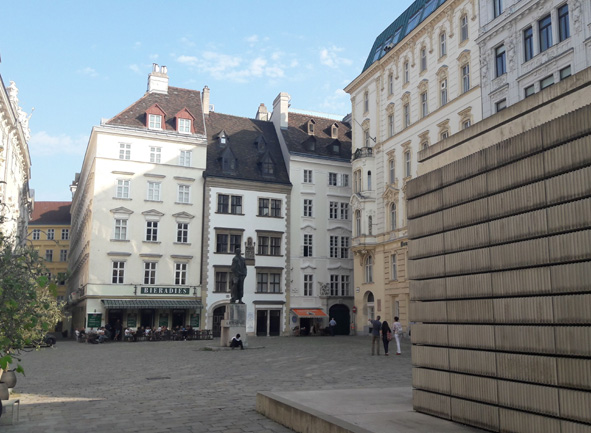 Jüdisches Wien Führung Judenplatz Rachel