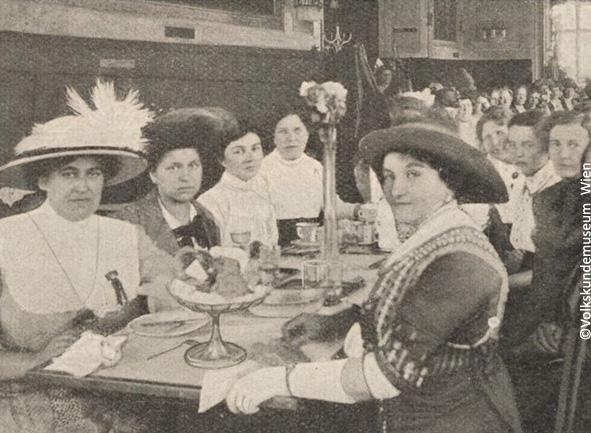 Frauengeschichte Wahlrecht ©Volkskundemuseum