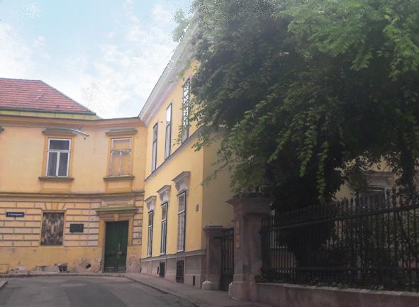 Salmgasse im Rasumovskyviertel der Landstrasse