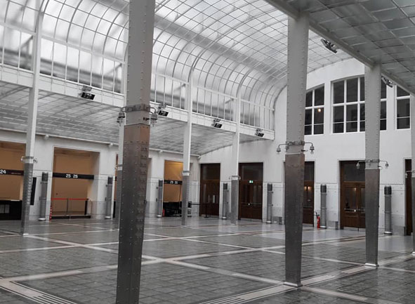 Main Hall of Otto Wagner's Postal Savings Bank